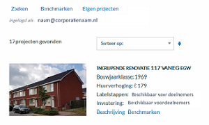 De benchmark Woningverbetering is online